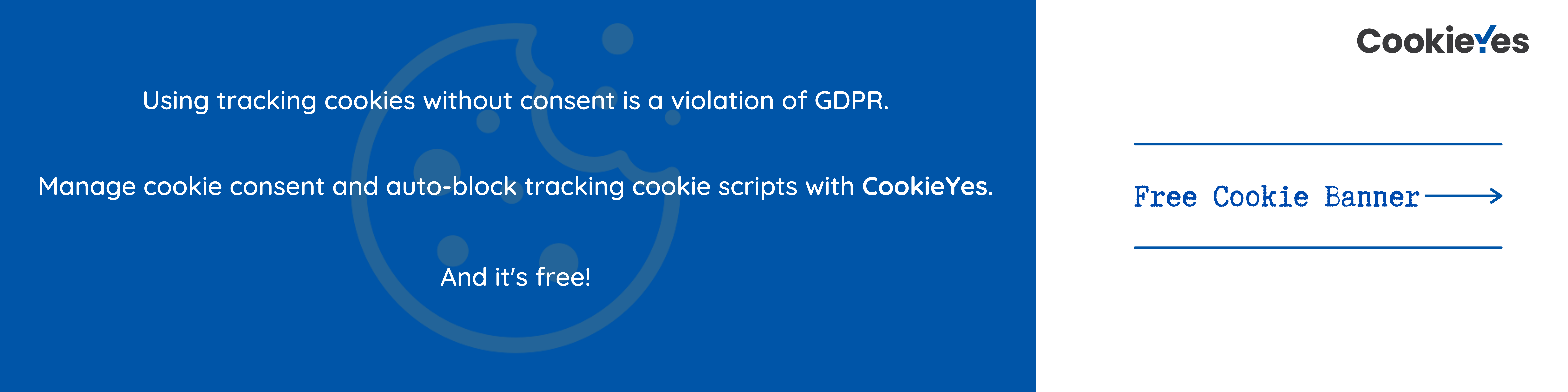 cookieyes cta for tracking cookies